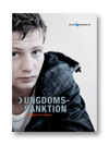 """Klik her for at se vores brochure """"Ungdomssanktion - et alternativ til fængsel"""""""